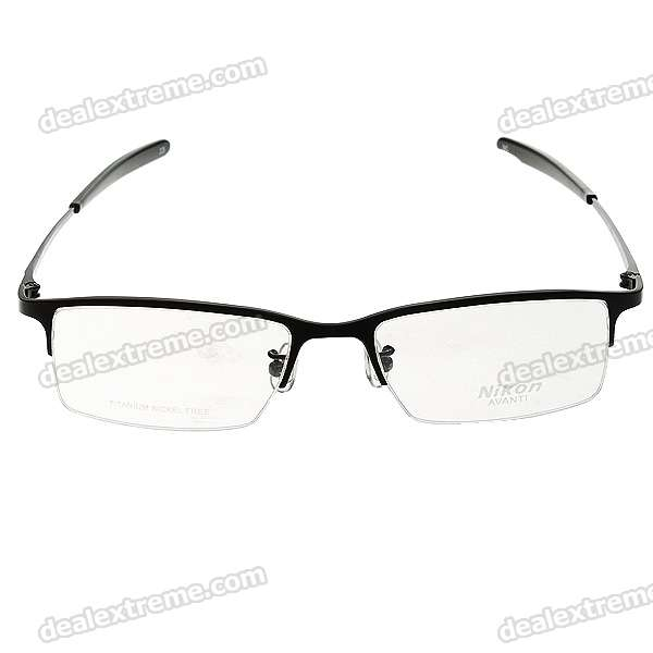 582e7e9ac2b0 Monalisa Alloy Half Frame Gl Spectacles With Protective Case