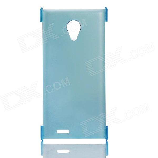 DOOGEE Protective PC Back Case for DOOGEE DAGGER DG550 - Light Blue