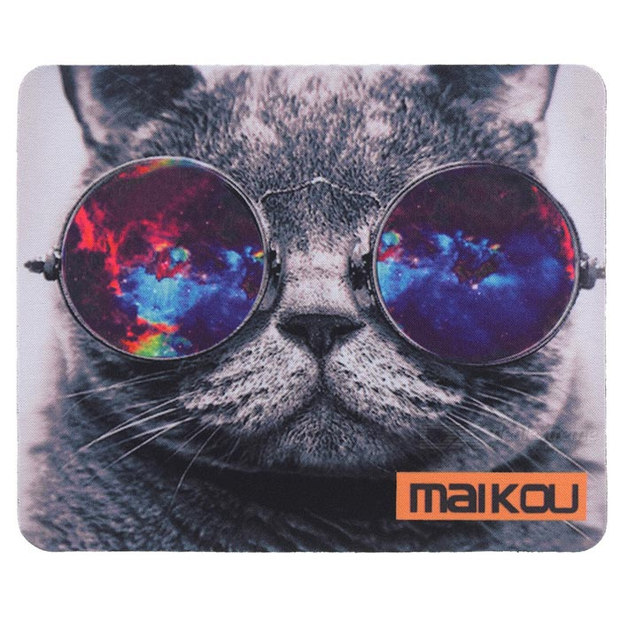 MAIKOU 21.8*18*0.2cm Lovely Cat Pattern Anti-Slip Non-Slip Mouse Pad Mat - Grey + Black Niceroom Custom Gaming Mouse Pad Btc Blank Bitcoin Niceroom Custom Gaming Mouse Pad Btc Blank Bitcoin sku 424321 1