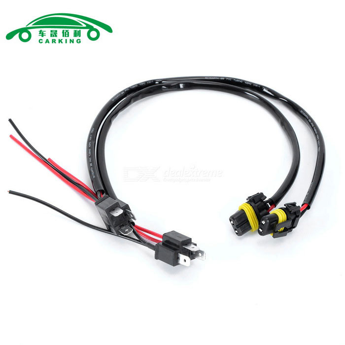 CARKING Car H4 Wire Socket Adaptor Connector Male Female