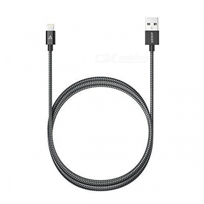 Anker 6ft Nylon Braided USB Cable with Lightning Connector