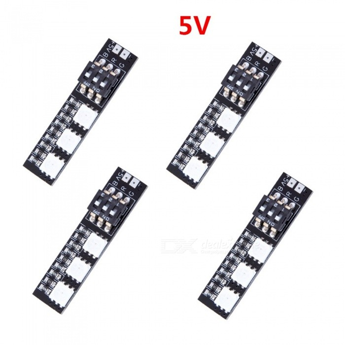 Produnio RGB LED Boards 5050 5V 7 Different Colors for RC