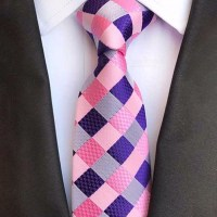 8cm High-End Polyester Jacquard Ties For Men, Fashion ...