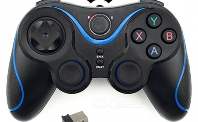 Wireless Game Controller Joystick Gamepad With Otg For Pc