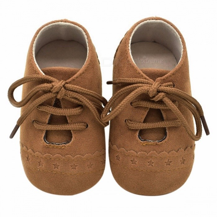 Stylish Baby Shoes Nubuck Leather Moccasins Soft Footwear