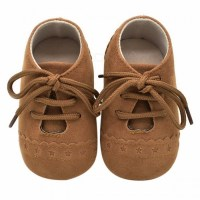 Stylish Baby Shoes Nubuck Leather Moccasins Soft Footwear ...
