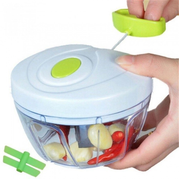 kitchen food slicer daisy decor tools multifunction chopper garlic cutter vegetable speedy manual meat grinder red