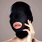 マイクロファイバー口開きマスク