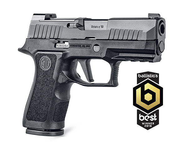 SIG SAUER P320 XCOMPACT Receives 2019 Ballistic Best Reader's Choice Award for Best Compact Semi-Auto