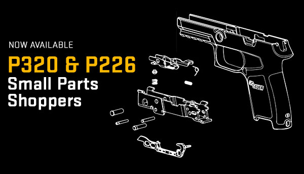 Introducing the P320 and P226 Small Parts Shoppers