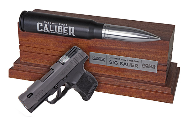 "P365 SAS Wins 2019 NASGW POMA-Caliber Award For ""Best New Handgun"""