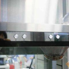 Lowes Kitchen Hood Remodeling Ideas For Kitchens 低调厨房装修八款简约型油烟机赏析第4张图片 万维家电网 低调的厨房油烟机