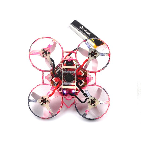 Eachine Us65 Uk65 65mm Whoop Fpv Racing Drone Bnf Crazybee F3 Flight Controller Osd 6a Blheli Esc