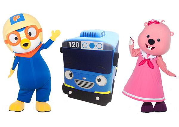 韓國當紅人氣王Pororo X TAYO 首次合體夏日遊樂園正式開園 噪咖 EBCbuzz