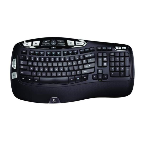Logitech Wireless Keyboard K350 for Business UK layout