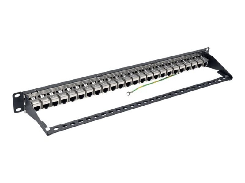 Tripp Lite 24-Port 1U Rack-Mount STP Shielded Cat6a