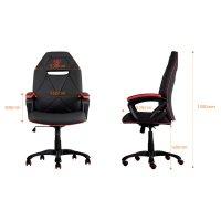 Thunder X3 Pro Gaming Chair TGC10 Black Blue - Ebuyer