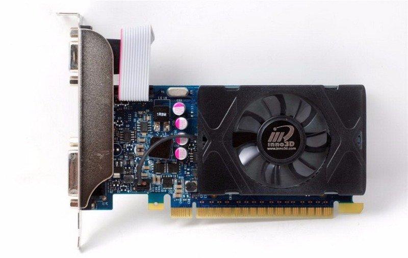 Inno3D Nvidia GeForce GT 730 1GB GDDR5 LP Graphics Card- N730-3SDV-D5BX | Ebuyer.com