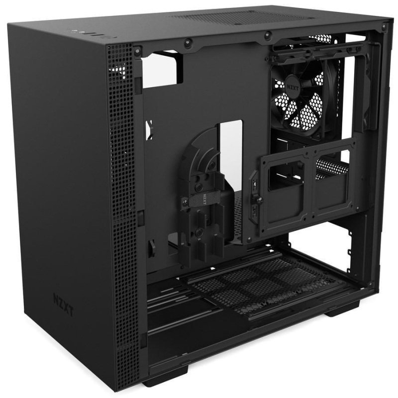 NZXT H200 Black Mini Tower Gaming PC Case at Ebuyer