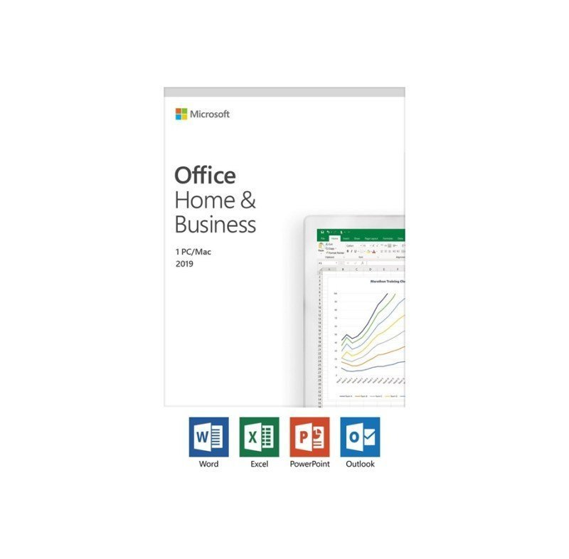 5 x Office Home and Business 2019 Medialess Bundle