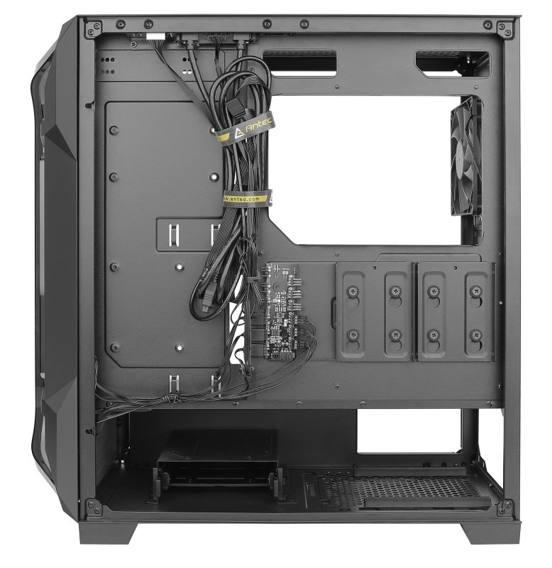 Antec DF600 FLUX - Mid Tower Gaming Case   Ebuyer.com