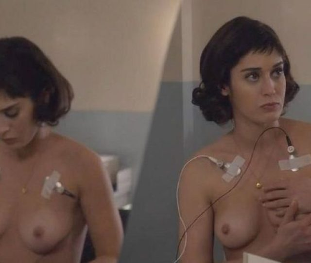 Lizzy Caplan Naked On Masters Of