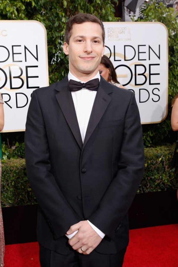 Andy Samberg 2016 Golden Globes Red Carpet - Movie''