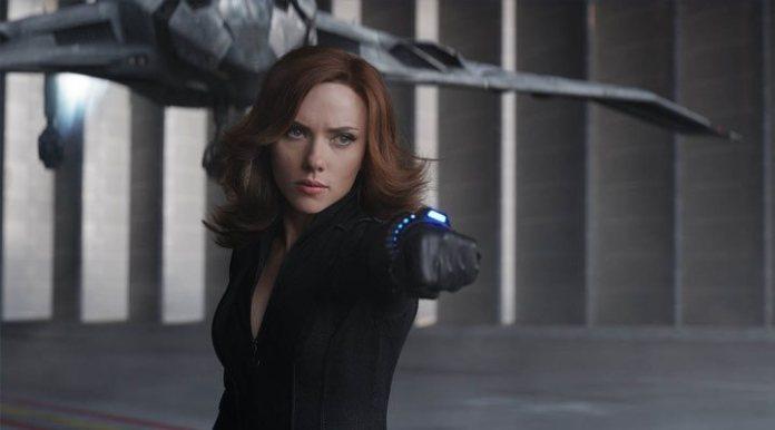 Scarlett Johansson in 'Captain America: Civil War'