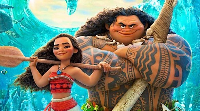 Promotional image of the Disney film, 'Vaiana'