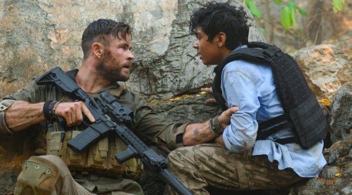 Chris Hemsworth in 'Tyler Rake'