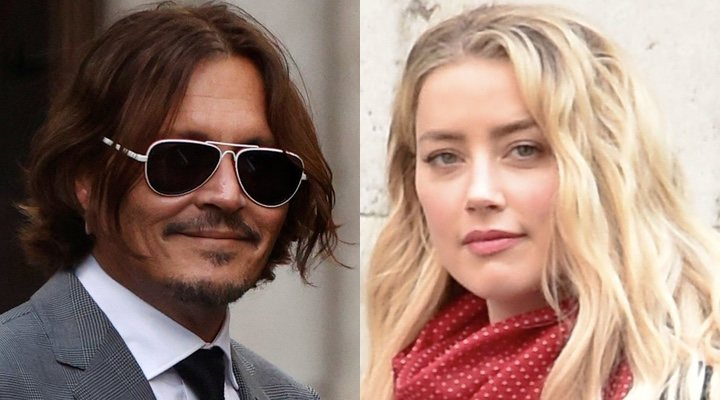 Johnny Depp and Amber Heard in defamation trial