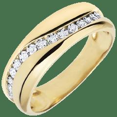 Diamantringe als Geschenkidee  Breite Ringe  Edenly
