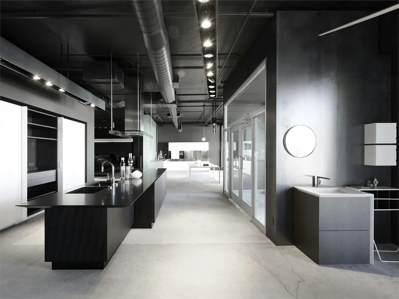 The new exhibition space Boffi in Montreal
