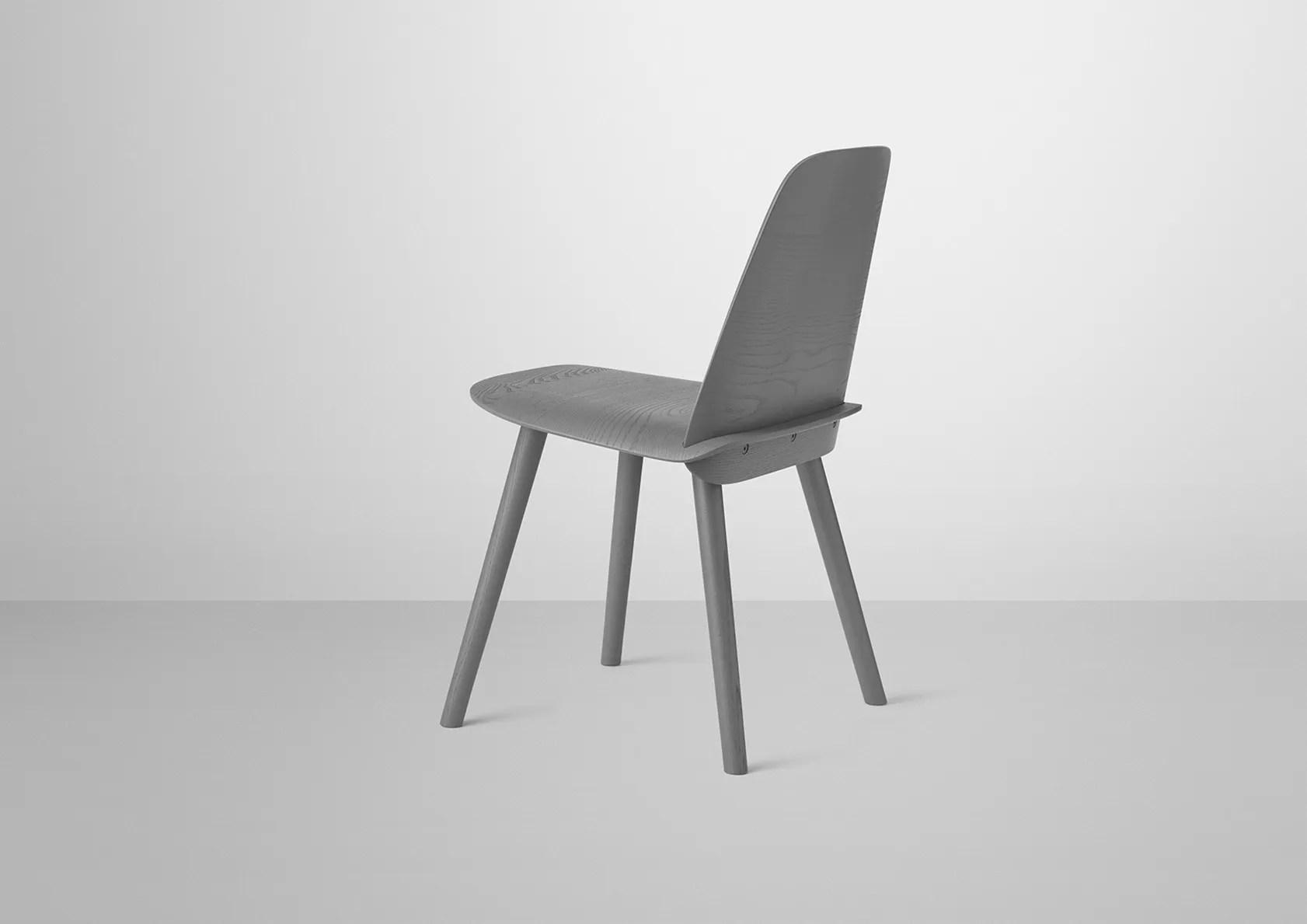 nerd chair muuto high top chairs muutos iconic wooden wears in dark grey