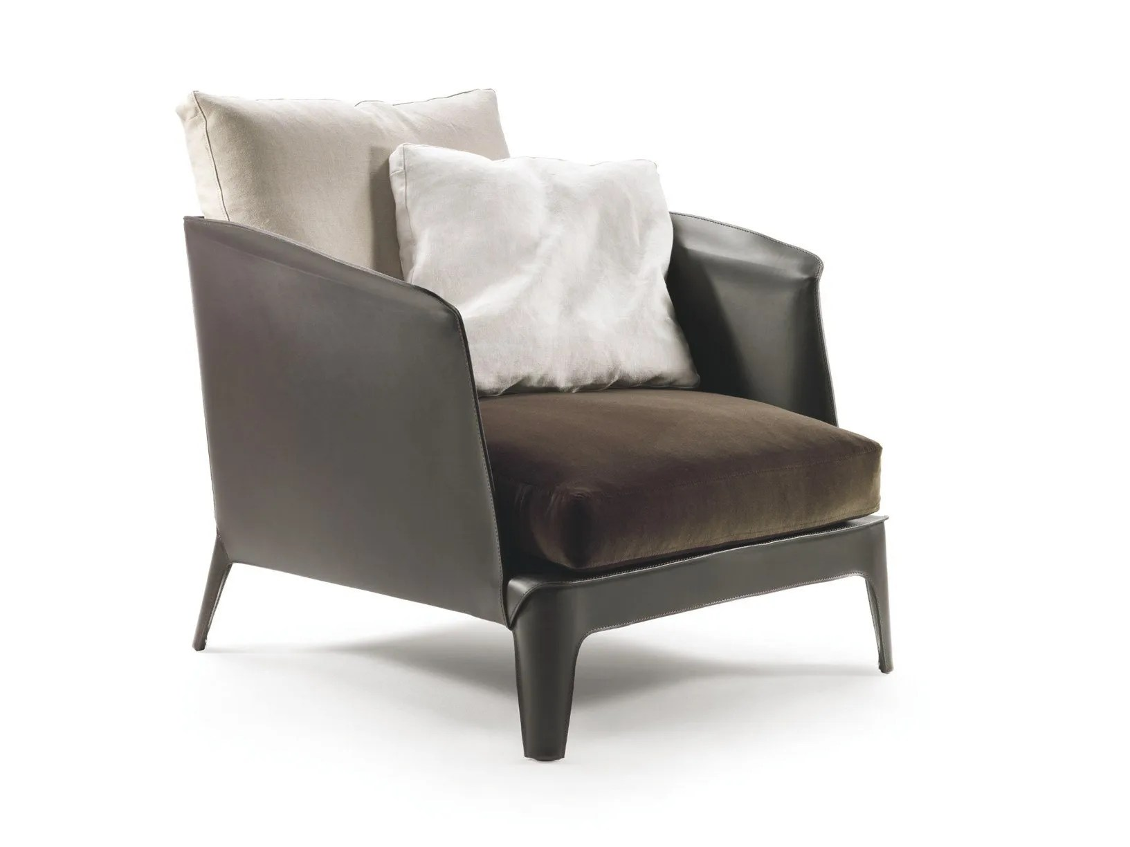 Cowhide Leather Soft Cushions