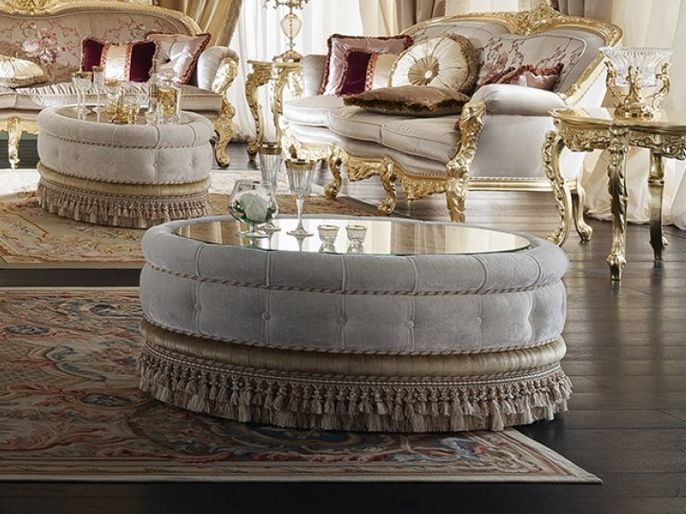 14616 round coffee table deluxe