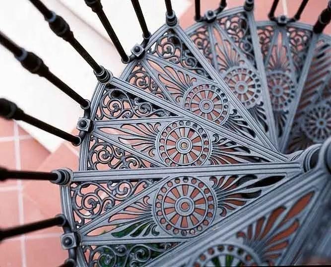 2050 Cast Iron Spiral Staircase By Modus   Cast Aluminium Spiral Staircase   Wine Bar   Metal   British Spirals   Wrought Iron   Iron Shop