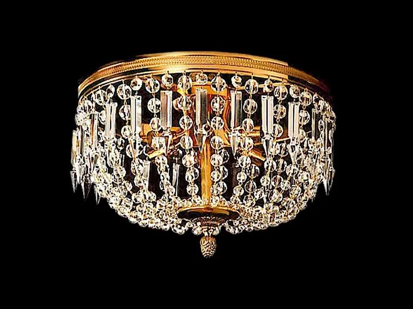 A gocce di cristallo di boemia dimensioni h x l 100 x 40 cm lampadario a un punto luce con lampadina led. Lampadario In Cristallo 30100 Lampadario Tisserant