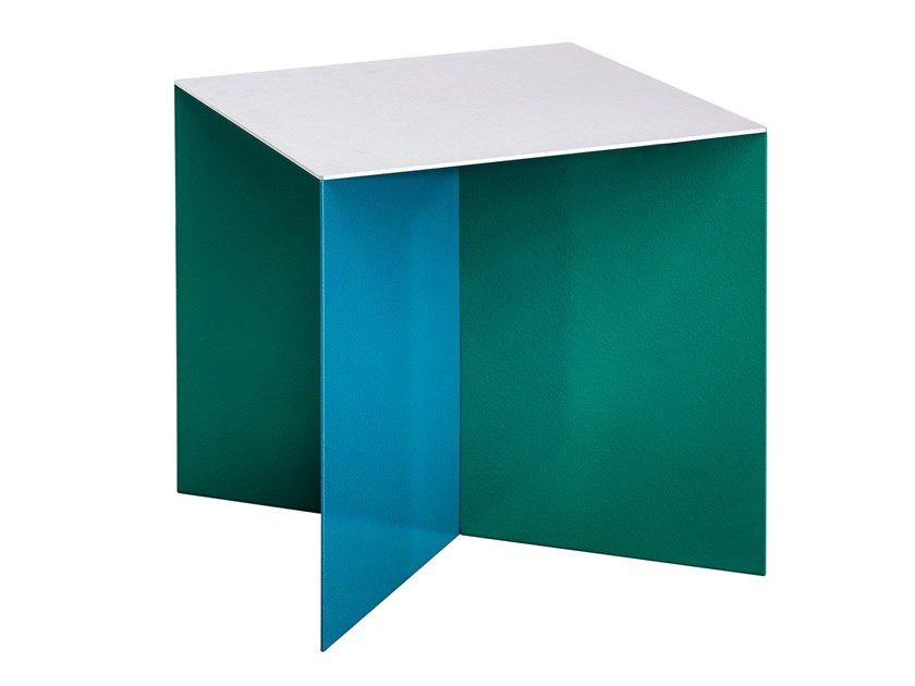 square aluminium coffee table alu