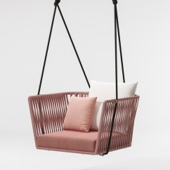 Hanging Chair Rope Bird Nest Bitta Garden Collection By Kettal
