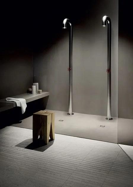 Pavimento con texture in resina cementizia spatolata CEMENTORESINA CR  Kerakoll Design House