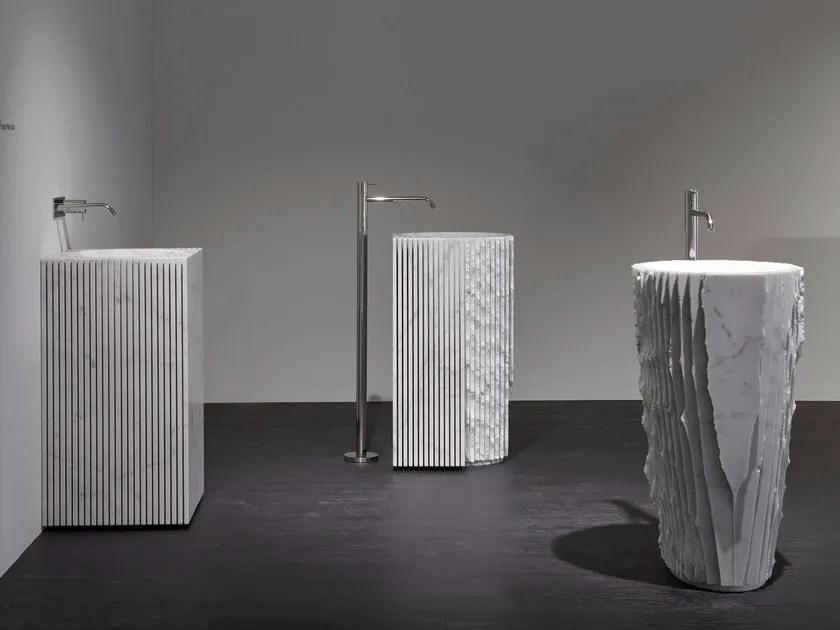 Lavabo freestanding in marmo CONTROVERSO By Antonio Lupi