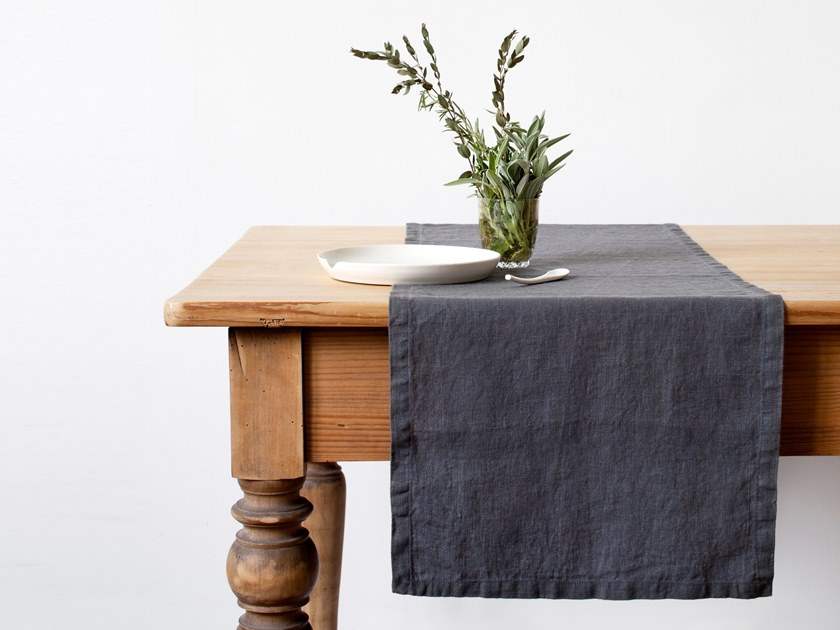 sofa table runners austin sofas moss green runner collection by linen tales