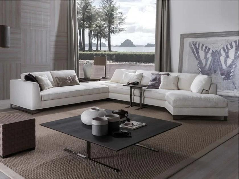 DAVIS FREE  Sectional sofa By Frigerio Salotti