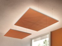 DIAMANTE | Hanging acoustical panel Diamante Collection By ...
