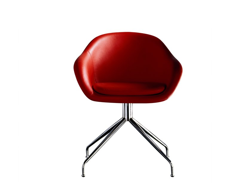 revolving easy chair neck support for office india formula leather by jose martinez medina