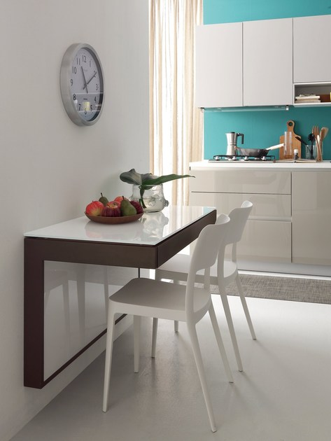 Mesa extensible de cocina de pared FORTUNE By IDEAS Group