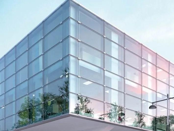 Sistema per facciate in vetro a fissaggio puntuale KLIMA