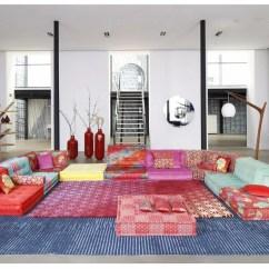 Roche Bobois Mah Jong Modular Sofa Preis Nicoletti Lipari Taupe Italian Leather Chaise By Design Hans Hopfer Kenzo Takada