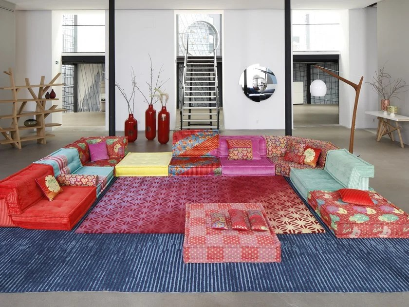 sofa mah jong roche bobois precio barcelona reclinable leon by design hans hopfer kenzo takada